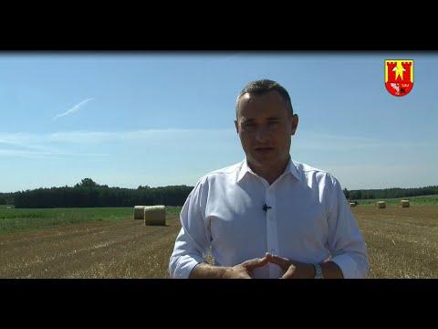 Podziękowania dla Rolników od Burmistrza Gminy Włoszczowa Grzegorza Dziubka