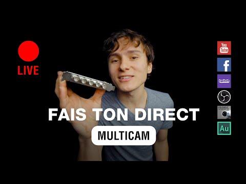 Fais ton direct live multi-caméra ! [TUTO] RVB