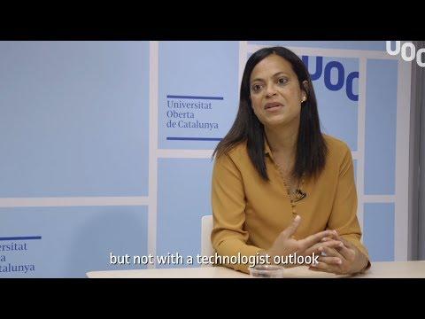 UOC R&I talk amb la investigadora del grup eTIC
