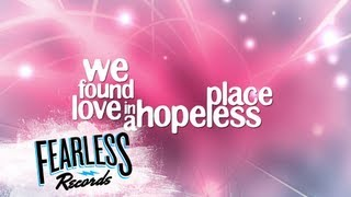"Forever The Sickest Kids - ""We Found Love""  Lyric Video (Punk Goes Pop 5)"