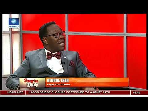 'Nigeria A Huge Political Laboratory', Ekeh's Intense Analysis On Defection Wave Pt.2|Sunrise Daily|