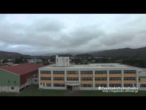 蘆別の空から-(施設)上芦別小学校