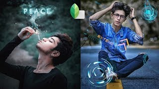 Snapseed Unic Futuristic Editing Tutorial | Best Color Effect Editing In Mobile | Chetan Edits