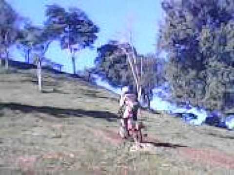 fazendo trilha em  uniao do oeste parte  4