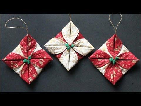 come realizzare semplici lavori natalizi in patchwork