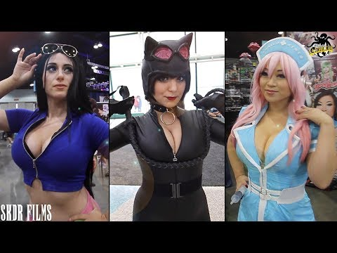 Stan Lee's LA Comic Con 2017 Cosplay Music Video - The Messenger/Immigrant Song Remix