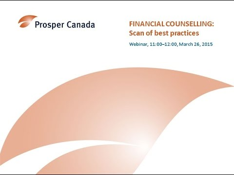 Findings from the Financial Counselling for People Living on Low Incomes: International Scan of Best Practices Webinar (March 2015)