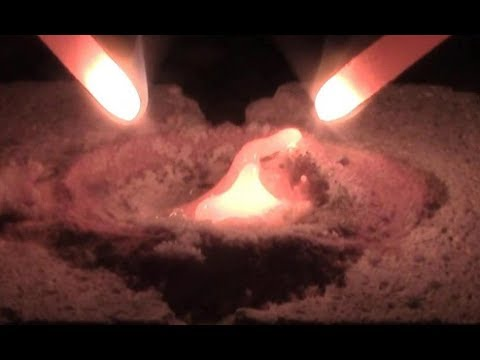Melting Sand Into Glass