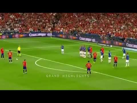 Spain - Italy 3 : 0 | İspaniya - İtaliya 3 : 0 | World Cup Qualifiers | Dünya Kuboku Seçmə Mərhələ |