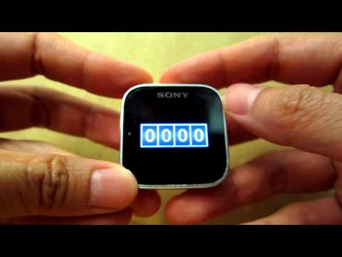 Video of Tally Counter for SmartWatch