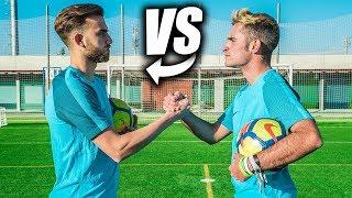 BORJA MAYORAL VS DELANTERO09 - Retos de Fútbol