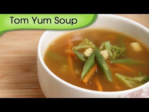 Tom Yum Soup – Easy To Make Homemade Vegetarian Thai Soup Recipe By Ruchi Bharani