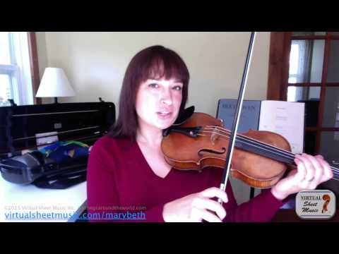 How to Make a Beautiful Sound on Violin