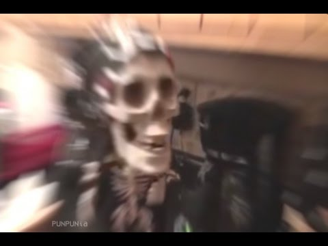 Skeleton Toy Goes CRAZY