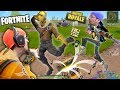Download Video FORTNITE Battle Royale Rap!  FGTEEV vs. 100 PEOPLE PVP! SNIPER FUNNY MOMENTS + New Map Double Chests