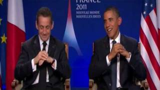 Video Interview de Nicolas Sarkozy et Barack Obama au JT MP3, 3GP, MP4, WEBM, AVI, FLV September 2017