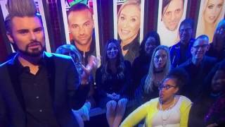 One audience member at Big Brother's Bit on the Side can't hide her amazement at Rylan's speedy monologue during the live show on Friday 6 January 2017.Big Brother's Bit on the Side is the daily news/magazine based show about Big Brother which is presented by Rylan Clark-Neal every night of the week. Emma Willis previously presented the show on non-eviction nights, however as of February 2015, Clark became the sole presenter. The show is filmed in Stage 6 at Elstree Studios, which is only a short walk from the main house itself.The show features debates and conversations about the latest goings on in the house with a studio audience and celebrity panel. During Big Brother 2011, Saturday's edition of the show took the form of a chat show with celebrity guests and Sunday's edition of the show was a 'Sunday game show', based on the weeks action from the House, with Josie Gibson and Jamie East as the regular team captains. Each daily edition also contains a news feature covering the day's action in the Big Brother House. The show also contains a round up of online activity which was hosted by a member of the digital team until January 2015. It is now incorporated into the main show and hosted by the presenter on that evening.