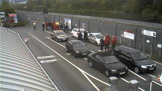 Nurburgring Gate Webcam Timelapse April 29, 2014