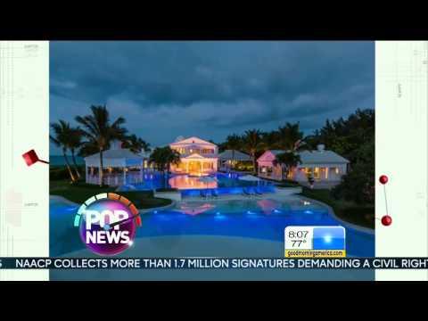 Celine Dion's Former House In Jupiter Island
