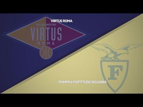 Fortitudo, gli highlights del match contro Roma