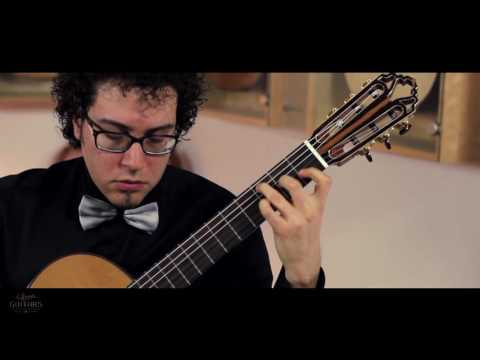 Andrea De Vitis plays No hubo remedio by Castelnuovo Tedesco on a 2016 Armin Hanika 1a Doubletop