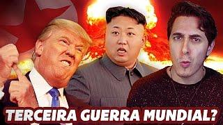 Será que a Coreia do Norte irá causar a terceira guerra mundial? Ou será os Estados Unidos? Entenda a tensão entre esses dois países que pode acabar em uma nova guerra nuclear.Me segue no INSTAGRAM - http://goo.gl/qdliIC @fecastanhariMeu Facebook - http://facebook.com/fecastanhariMeu SnapChat - FeCastanhariMeu Twitter - http://goo.gl/A1AsOg @fecastanhariEntenda MAIS sobre o assunto, recomendo esses links -http://www.bbc.com/portuguese/noticias/2016/01/160107_coreia_norte_china_fnhttp://www.bbc.com/portuguese/internacional-39596923http://www.bbc.com/portuguese/noticias/2016/02/160211_programa_militar_coreia_do_norte_rbFicha TécnicaRoteiro - Rob Gordon e Felipe CastanhariConsultoria - Marcos Tourinho (Relações Internacionais)Montagem e Edição - Nando AlmeidaArtes - Rick OrdonezPesquisa - Leonardo Produtora - http://tucanomotion.com.br
