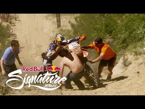 bull - Check out Red Bull Romaniacs Hard Enduro Rallye 2012, one of the most extreme enduro races in the world. Taking place in the mountains of Romania, see if rei...
