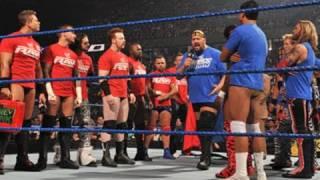 Video SmackDown: Six-Man SmackDown vs. Raw Tag Team Match MP3, 3GP, MP4, WEBM, AVI, FLV November 2017