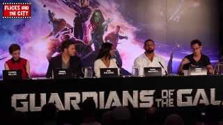 Guardians of the Galaxy Interviews - Chris Pratt, Zoe Saldana, Karen Gillan & Dave Bautista