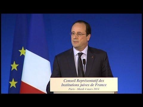 """Hollande évoque """"le recours éventuel à des sanctions"""" contre la Russie"""