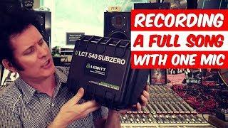 Recording a full song with 1 mic (Lewitt LCT 540 Subzero) - Warren Huart: Produce Like A Pro