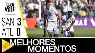 CAIU NO ALÇAPÃO... O Peixe não deu chances para o Atlético-MG e venceu a equipe de Minas Gerais por 3 a 0! Confira os melhores momentos da partida Inscreva-s...