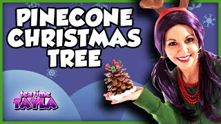 How to make Pine Cone Christmas Trees, Christmas Crafts