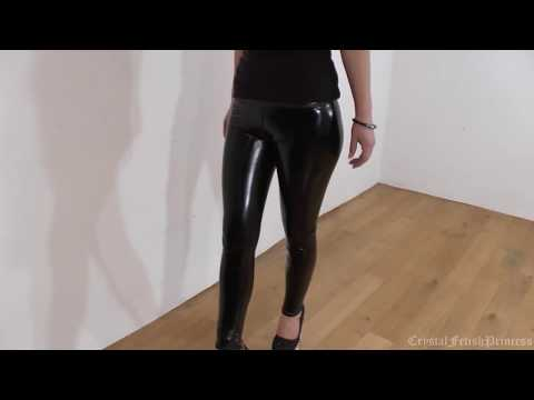 sexy leggings - slinky2 Sexy Slinky Liquid Latex Leggings Fetish If you enjoyed the video then please subscribe. If you follow the link below it will take you to the Crystal...