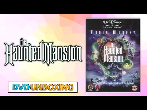 Haunted Mansion DVD UNBOXING