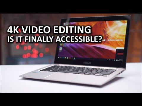 , title : '4K video editing on an ULTRABOOK!?'