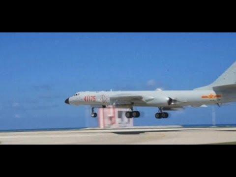 Muskelspiele: Chinesische Bomber landen erstmals im S ...