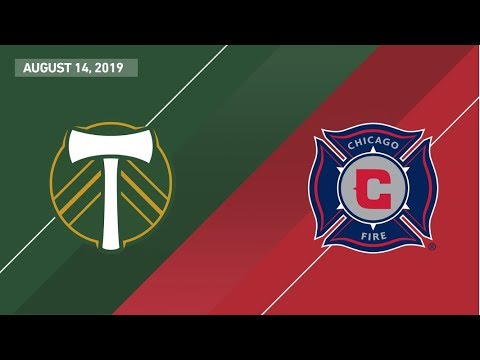 Video: HIGHLIGHTS: Portland Timbers vs. Chicago Fire | August 14, 2019