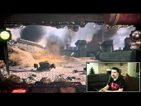 Battalion - For more visit: http://angryjoeshow.com/2012/05/fartin-around-with-steel-battalion-kinect/