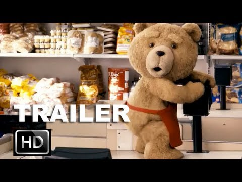 Ted Red Band Trailer (HD) - Mark Wahlberg Wishes His Teddy Bear To Life