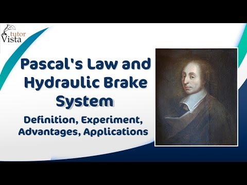 hydraulic - Check us out at http://www.tutorvista.com/content/physics/physics-iii/solids-and-fluids/pascals-law-applications.php Pascal's Law The Pascal's law states tha...