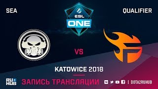 Execration vs Team Flash, ESL One Katowice SEA, game 1 [Mila]