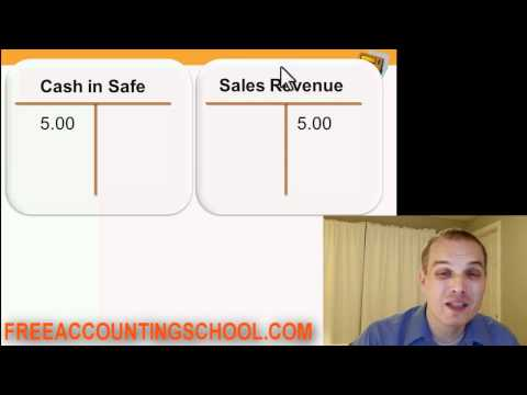 revenue - http://Freeaccountingschool.com. In this tutorial, accountant Daniel Dickson answers the following questions: How do you record the sale of a product using d...