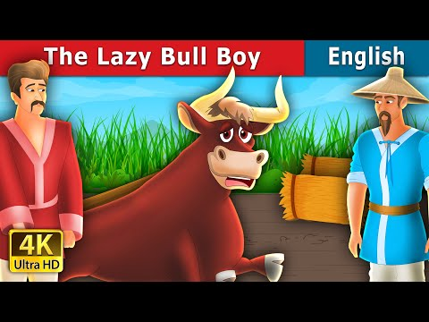 The Lazy Bull Boy Story in English | Stories for Teenagers | English Fairy Tales