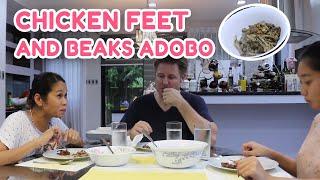 Video CHICKEN FEET & BEAKS ADOBO w/ POKWANG AND LEE O'BRIAN MP3, 3GP, MP4, WEBM, AVI, FLV Maret 2019