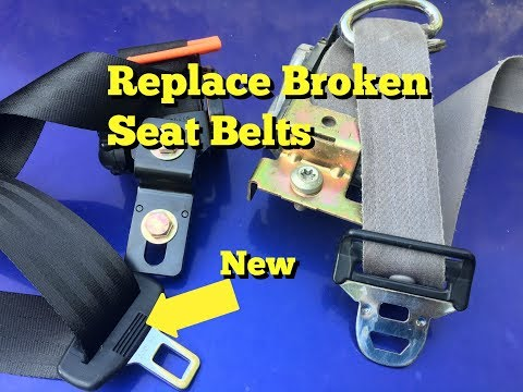 Replace Broken Seat Belts F150