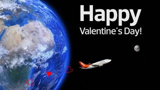Happy Valentine's Day from Air North and Bicycle Ride Productions