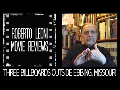 THREE BILLBOARDS OUTSIDE EBBING, MISSOURI - movie review by Roberto Leoni Eng sub