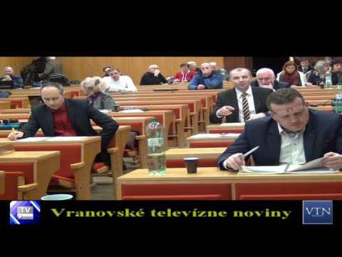 Vranov: MsZ zobralo na vedomie správu o činnosti MP za rok 2016