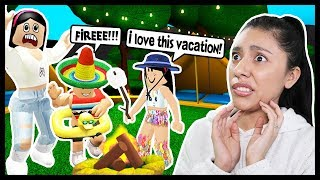 I TOOK MY KIDS ON OUR FIRST FAMILY VACATION! - Roblox Roleplay - Bloxburg